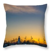 Port Credit 4 Throw Pillow