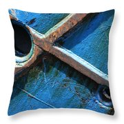 Port Cross Throw Pillow