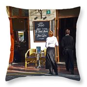 Port De Soller Throw Pillow