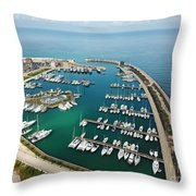 Port Di Pisa Throw Pillow
