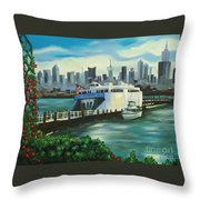 Port Imperial Throw Pillow