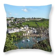 Port Isaac 1 Throw Pillow