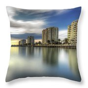 Port Melbourne Dreaming Throw Pillow