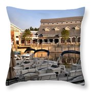 Port Orleans Riverside II Throw Pillow