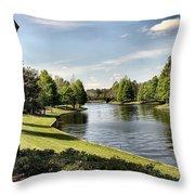 Port Orleans Riverside Iv Throw Pillow