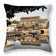 Port Orleans Riverside Throw Pillow
