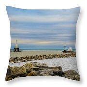 Port Washington Light 6 Throw Pillow