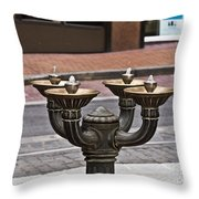 Port135 Throw Pillow