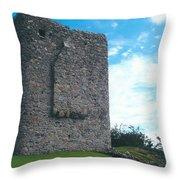 Portaferry Castle Throw Pillow