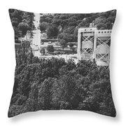 Portage Bridge Throw Pillow