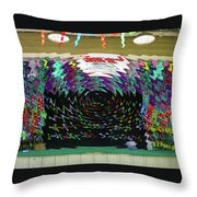 Portal To Another Dimension Throw Pillow