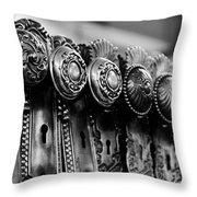 Portals To The Past Throw Pillow