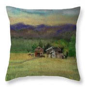 Porter's Farm Throw Pillow