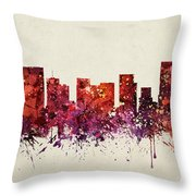 Portland Cityscape 09 Throw Pillow