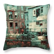 Portland Historic District Throw Pillow