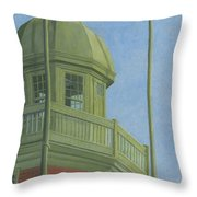 Portland Observatory In Portland, Maine Throw Pillow
