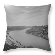Porto Finally Sees The Sun Throw Pillow