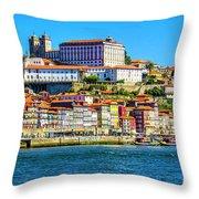Porto Portugal Throw Pillow