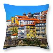 Porto Rising Throw Pillow