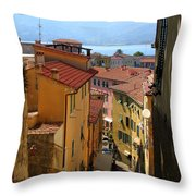 Portoferraio Elba Throw Pillow