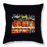 Portofino - Liguria Italy Throw Pillow