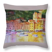 Portofino Afternoon Throw Pillow