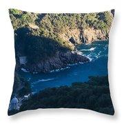 Portofino San Fruttuoso Bay Throw Pillow