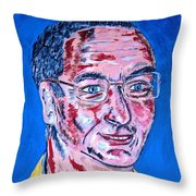 Portrait Dr. R. Meiritz Throw Pillow