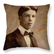 Portrait Of A Boy 16 Throw Pillow