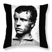 Portrait Of A Boy 20 By Adam Asar -  Asar Studios Throw Pillow