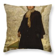 Portrait Of A Child Throw Pillow