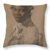 Portrait Of A Gentleman 1802 Throw Pillow