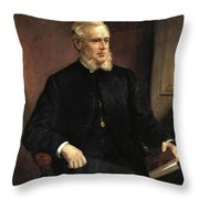 Portrait Of A Gentleman Throw Pillow