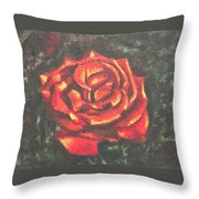 Portrait Of A Rose 2 Throw Pillow