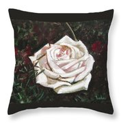 Portrait Of A Rose 3 Throw Pillow