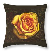 Portrait Of A Rose 5 Throw Pillow