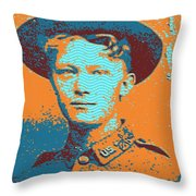 Portrait Of A Young  Wwi Soldier 4 Throw Pillow