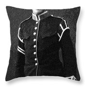 Portrait Of A Young  Wwi Soldier Series 13 Throw Pillow