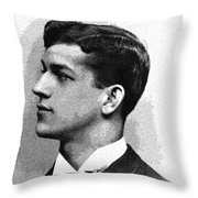 Portrait Of A Youth 32 By Adam Asar -  Asar Studios Throw Pillow