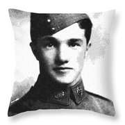 Portrait Of A Youth From History Series. No 10 Throw Pillow