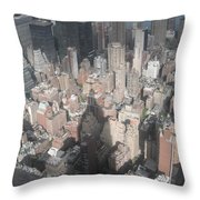 Portrait Of America - Cast A Long Shadow Throw Pillow