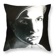 Portrait Of Bridget L. Throw Pillow