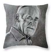 Portrait Of Bud Throw Pillow