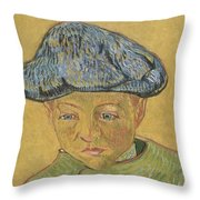 Portrait Of Camille Roulin Throw Pillow