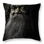 Portrait Of Cedric Throw Pillow
