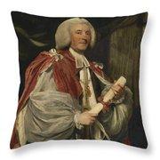 Portrait Of Dr. John Thomas Throw Pillow