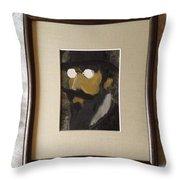 Portrait Of Erik Satie Throw Pillow