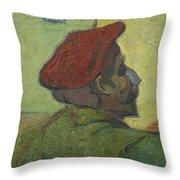 Portrait Of Gauguin Arles December 1888 Vincent Van Gogh 1853  1890 Throw Pillow