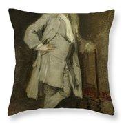 Portrait Of Jan Lepeltak Throw Pillow