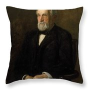 Portrait Of John Gest Throw Pillow